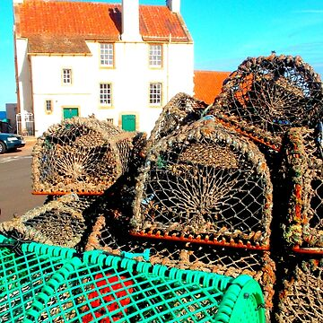 Lobster Baskets at Pittenweem Harbour by angel1