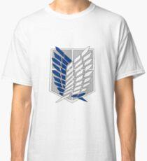 Sasageyo Shingeki no Kyojin Logo Classic T-Shirt