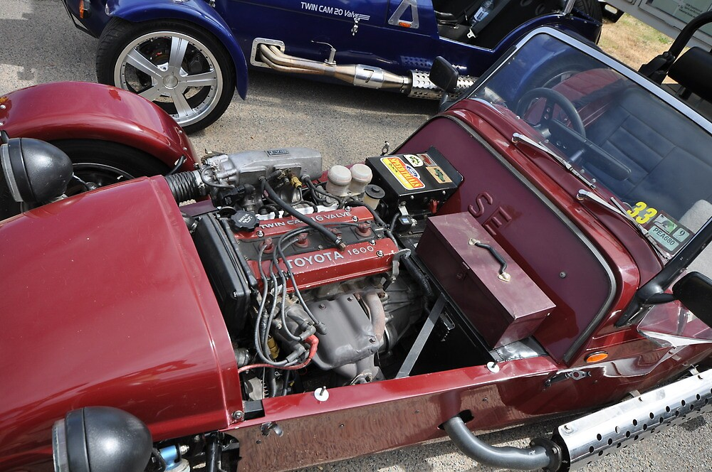 Tool box in the Engine bay of a Clubman by ibz777ibz
