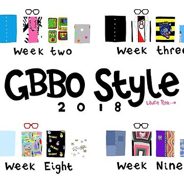 GBBO Style Guide 2018: The Mug by lauriepink