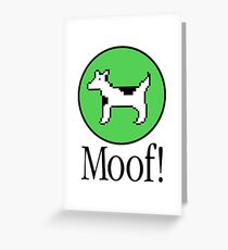 Clarus the Dogcow Greeting Card