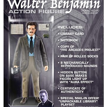 Walter Benjamin Action Figure by GiantsOfThought