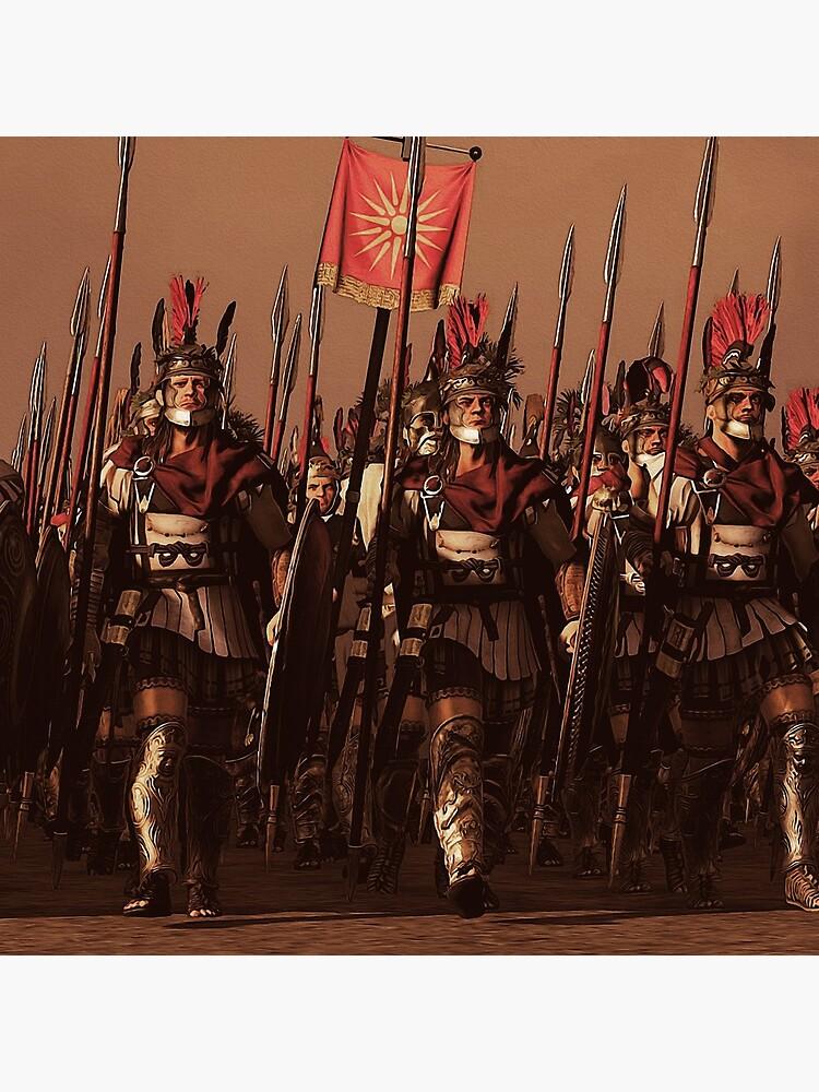Macedonian Phalanx at war  by ErianAndre