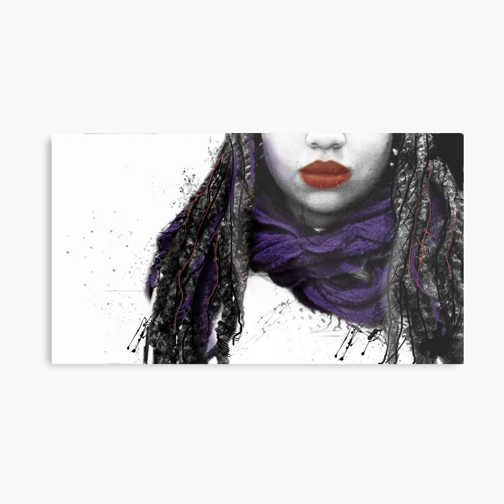 My Favorite Scarf 2 Metal Print