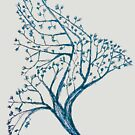 Tree Bird Silhouette by rott515