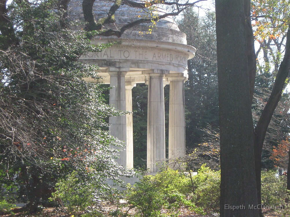 World War 1 Memorial in DC by Elspeth  McClanahan