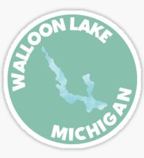 Walloon Lake Sticker