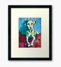 Dalmatian Framed Print