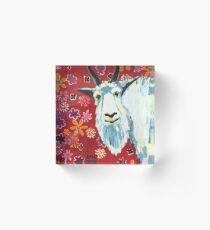 Liberty Goat Acrylic Block