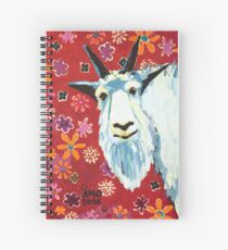 Liberty Goat Spiral Notebook