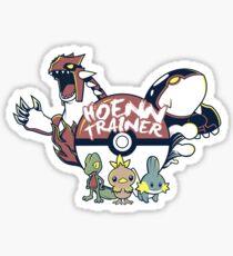 Hoenn Trainer Sticker