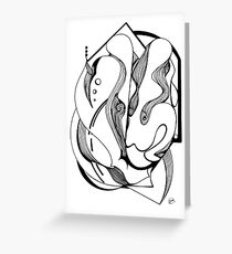 Abstract Moment Greeting Card
