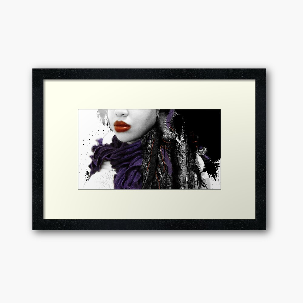 My Favorite Scarf  Framed Art Print