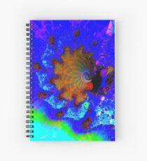 Seahorses Carousel Spiral Notebook