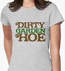 Dirty Garden HOE Women's Fitted T-Shirt