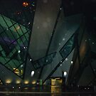The R. O. M. ~  Royal Ontario Museum at night.. by Larry Llewellyn