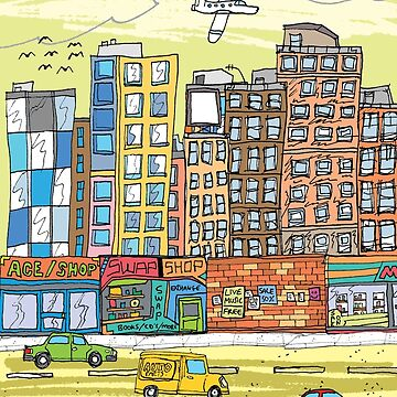 CITYSCAPE 1 by DARCNITEZ