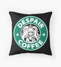 Despair Coffee / Danganronpa Throw Pillow