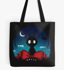 The Witch's Familiar / Kiki Delivery Service Tote Bag