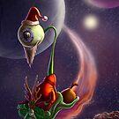 Xmas on Uranus by trickmonkey