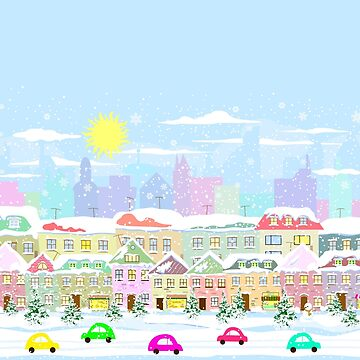Winter In The City by SpiceTree
