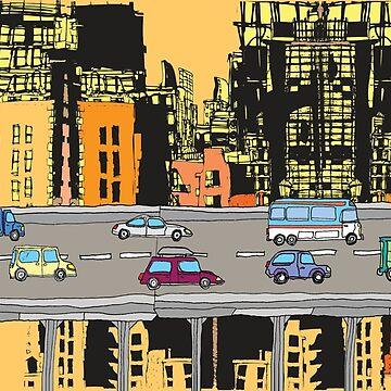CITYSCAPE 6 by DARCNITEZ