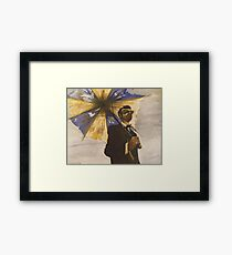 six-string samurai Framed Print