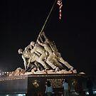 Iwo Jima Memorial by Jim Haley
