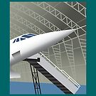 MANCHESTER AIRPORT - Concorde by CRP-C2M-SEM