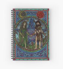 Beltane (the Goddess and the God) Spiral Notebook
