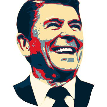 Ronald Reagan Pop Art by idaspark