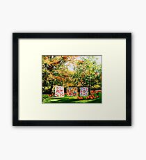 A Country Autumn Framed Print