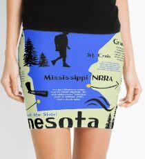 Minnesota National Parks Infographic Map  Mini Skirt