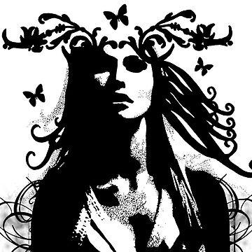 Butterfly Girl by Hann87