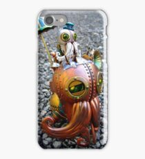 Steam Locomotive Perambulator iPhone Case/Skin