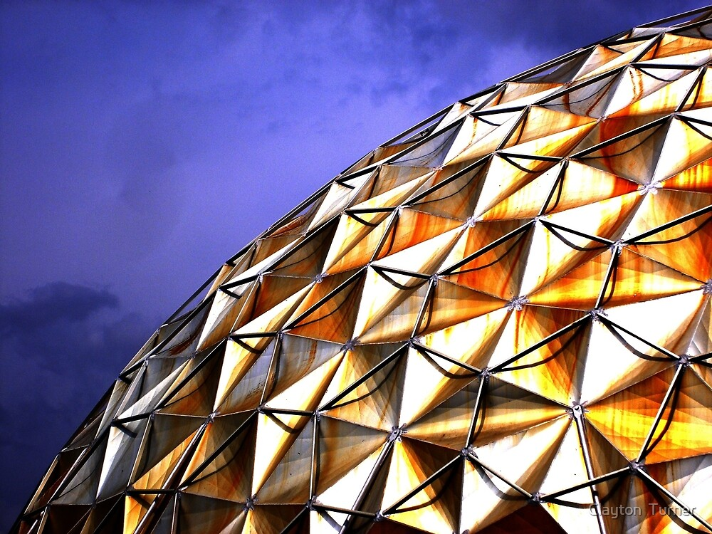 Golden Dome by Clayton  Turner