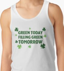 St. Patrick's Day Green Tank Top