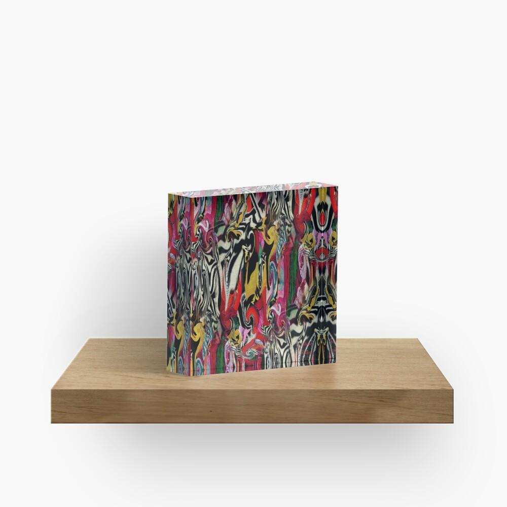 Zebra Dream Acrylic Block