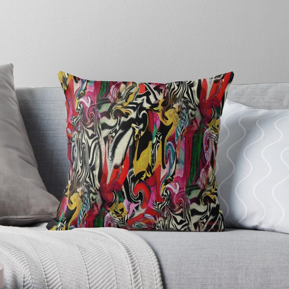 Zebra Dream Throw Pillow