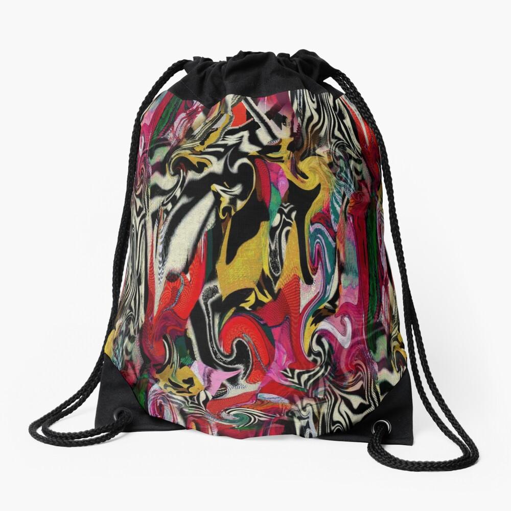 Zebra Dream Drawstring Bag