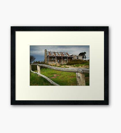 Craigs Hut  Framed Print