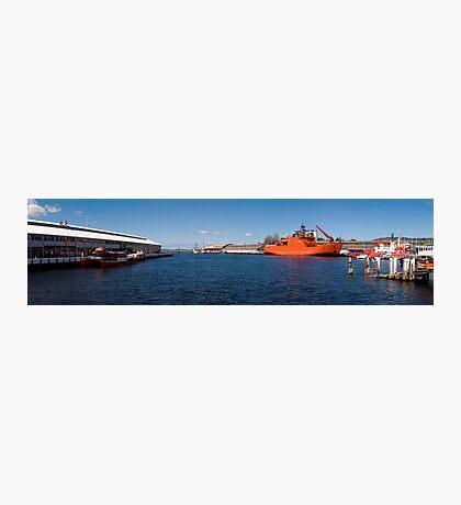 Franklin Wharf - Hobart - Tasmania Photographic Print