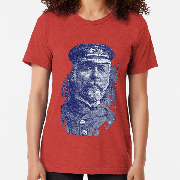 1912 John Smith, Captain of the Titanic Tri-blend T-Shirt Unisex Tshirt