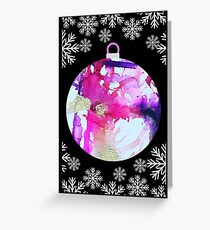 Christmas?  You got this in Silver Greeting Card
