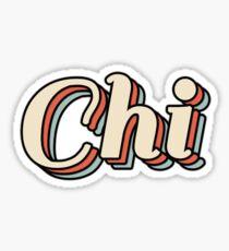 Chi Sticker