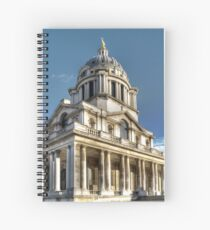 Naval College at Greenwich Spiral Notebook