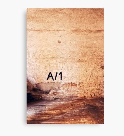 A/1 Canvas Print