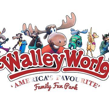 Walley World - Full Character Family Logo by Purakushi