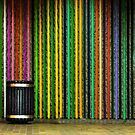 Subway wall by Manon Boily