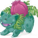 Ivysaur by Rowena Aitken
